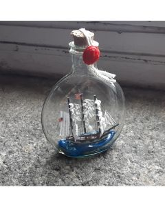 USS Constitution Ship in a Bottle 4''