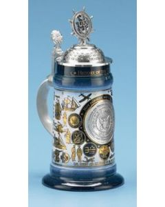 History of the Navy Commemorative Beer Stein