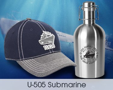 U-505 Submarine Gifts
