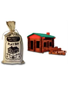 Abe Lincoln Log Cabin Playset