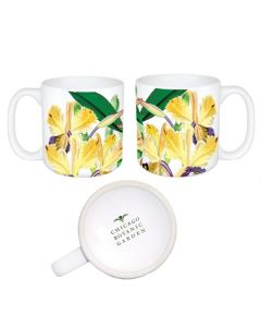 Yellow Orchid Mug
