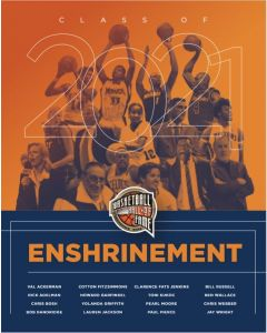 Class of 2021 Enshrinement Poster
