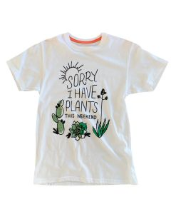 Adult Unisex Short Sleeve I Have Plants Tee