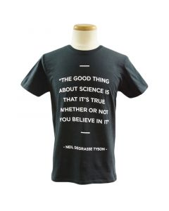 Adult Neil DeGrasse Tyson Science Quote Tee