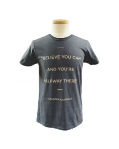 Adult Theodore Roosevelt Quote T-Shirt