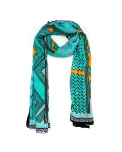 African Tribe Printed Scarf
