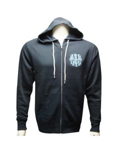 Adult 150th Anniversary Logo Slate Blue Zip Hoodie