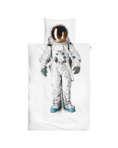 Astronaut Twin Bed Duvet Cover and Pillowcase