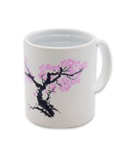 Blossom Heat-Changing Morph Mug Closeup