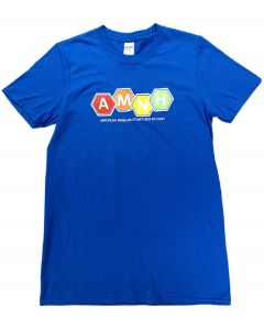 Adult AMNH Color Hexagons T-Shirt