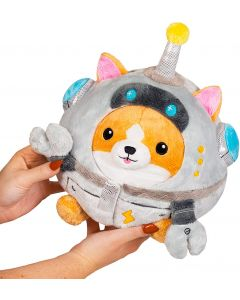 Plush Squishable Corgi Robot