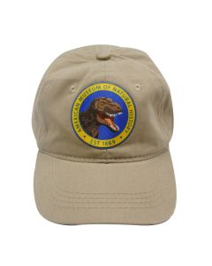 Adult Khaki T. Rex Patch Cap