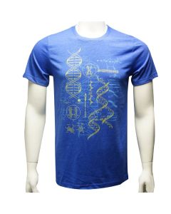 Adult DNA Scientific Illustrations T-Shirt