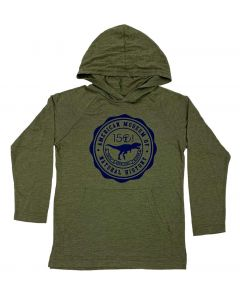 Youth Long Sleeved AMNH Emblem Hoodie