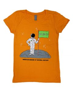 Youth Orange Astronaut We Did It! T-Shirt