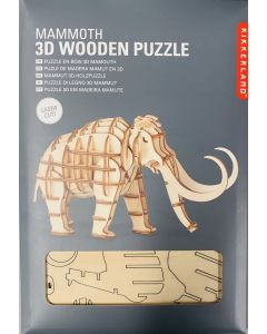 Mammoth 3-D Wooden Puzzle