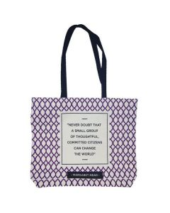 Margaret Mead Quote Tote Bag