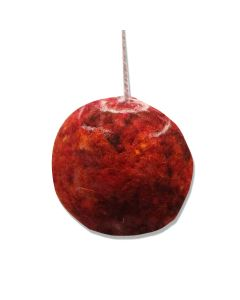 Handcrafted Wool Mars Ornament