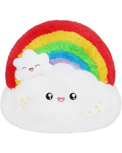 Mini Squishable Plush Rainbow
