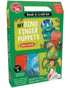 My Dino Finger Puppets Kit