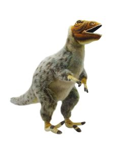Handcrafted Lifelike Plush Feathered Dinosaur