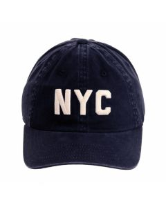Embroidered Navy NYC Skyline Cap