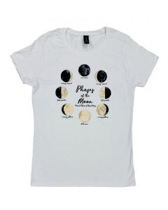Ladies Phases of the Moon T-Shirt
