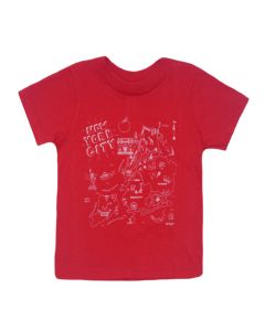 Toddler Red NYC Map T-Shirt