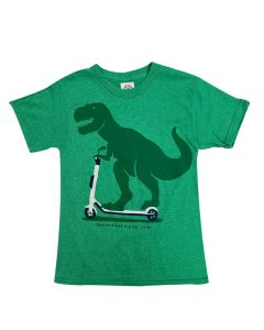 Toddler T.Rex On a Scooter T-Shirt