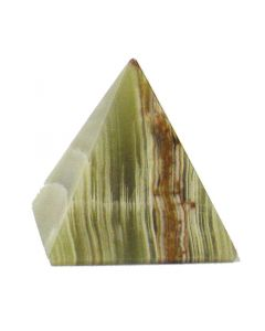 Small Banded Onyx Pyramid