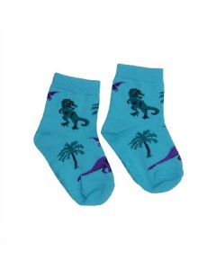 Toddler Land of Dinosaurs Crew Socks
