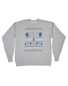 Adult AMNH Space Ugly Christmas Sweatshirt