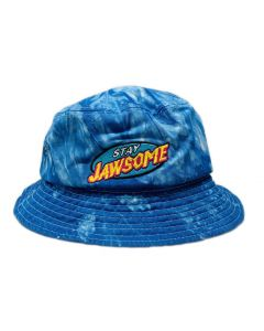 Stay Jawsome Tie Dye Bucket Hat