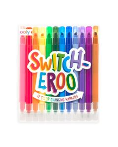 Set of 12 Switch-Eroo Color-Changing Markers