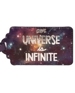Our Universe Is Infinite Luggage Tag