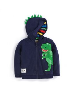 Infant / Toddler Dinosaur Zippered Hoodie
