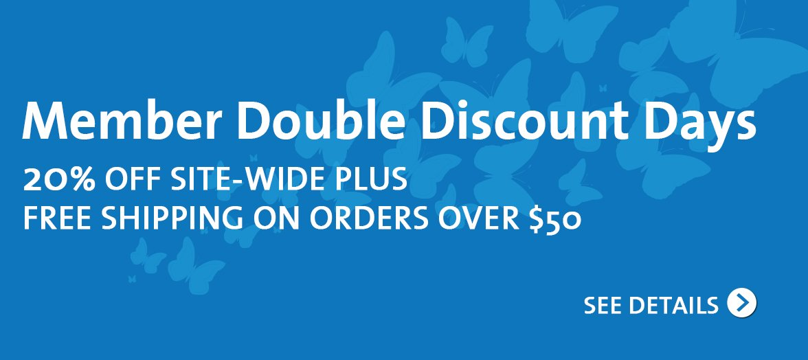 Member Double Discount Days