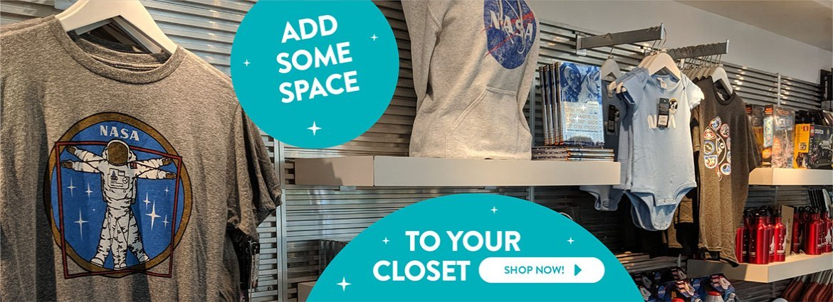 Adler Planetarium Gift Shop Apparel