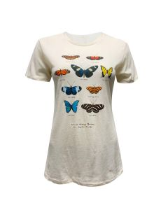 Ladies Butterfly Species Tee