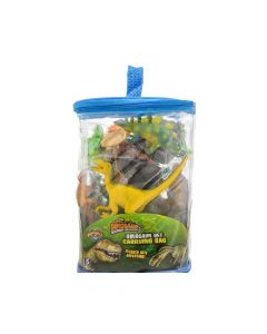 Dinosaur 23 Pc Set with Carrying Bag