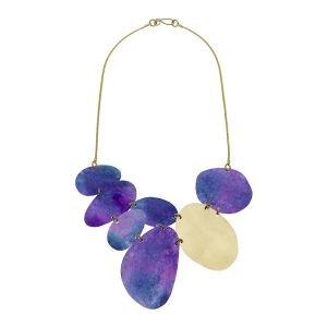 Giverny Beach Stones Necklace by Sibilia