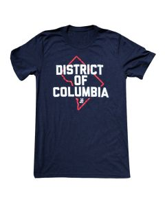 Adult Navy  ''District of Columbia'' Tee