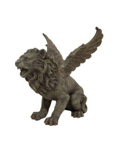 Winged Lion Gargoyle