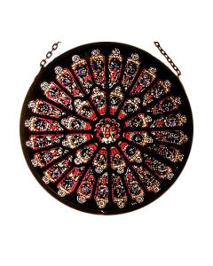Rose Window in 2.5'', Durham Cathedral
