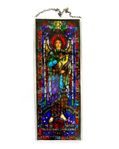 One Hundredth Psalm Stained Glass Reproduction