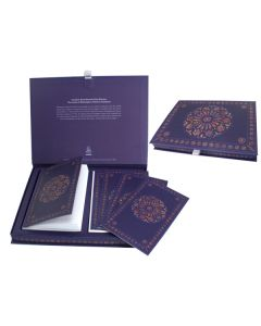 Rose Window Stationery Set