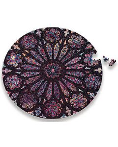 Rose Window Jigsaw Puzzle, 500 pieces