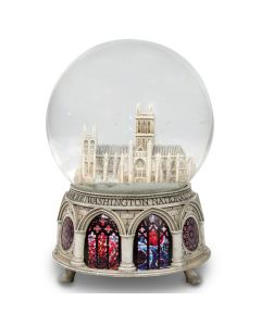 Large Cathedral Snowglobe