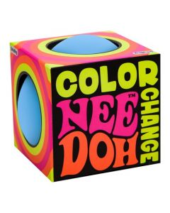 Nee-Doh Color Changing Ball- Blue