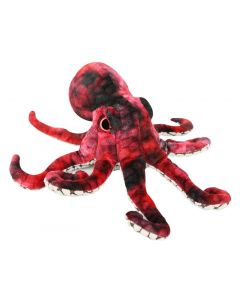 Plush Red Octopus